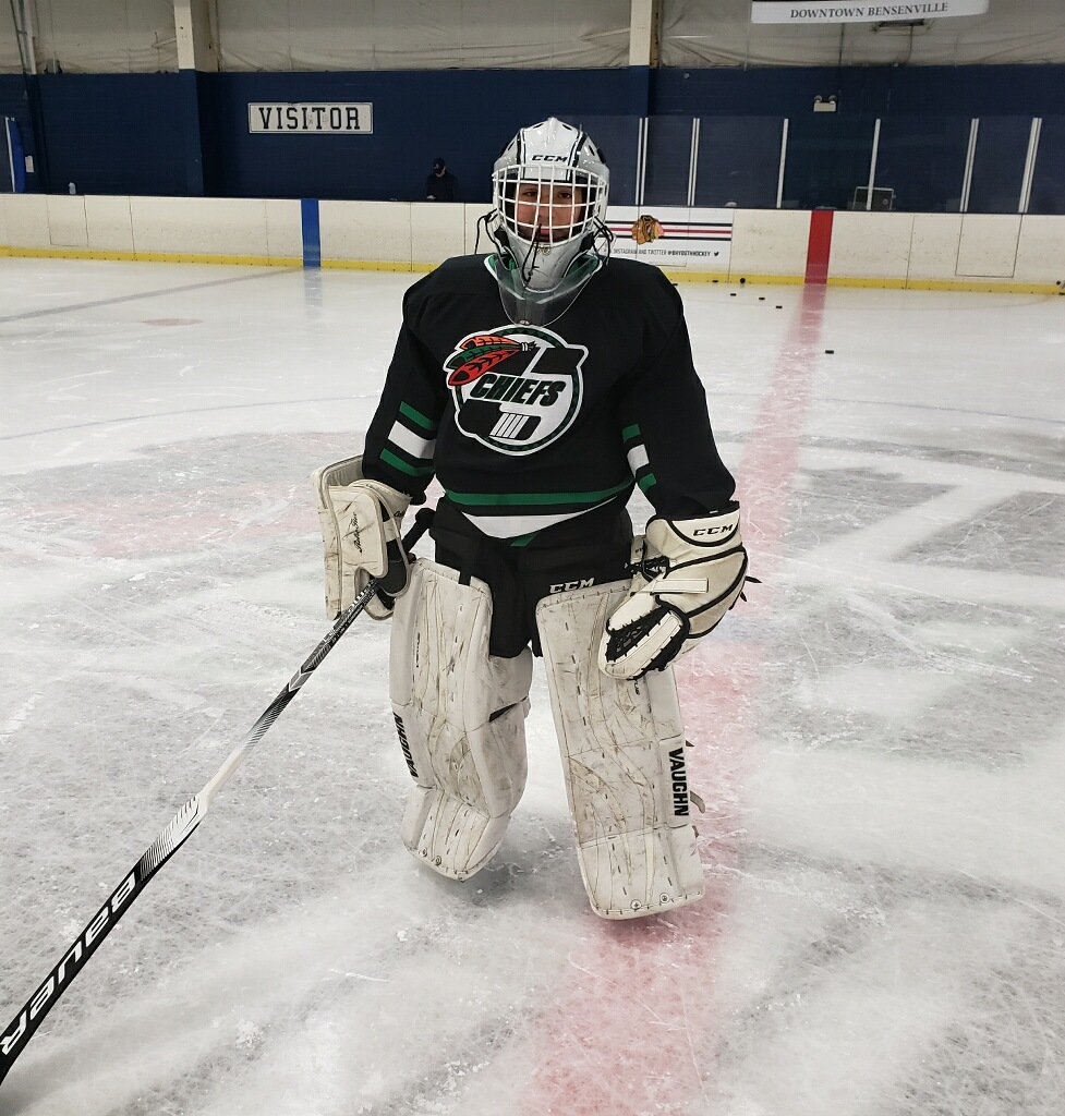 76734ca6b0b3f The Chicago Hockey Initiative is enthused to introduce our 41st Microgrant  recipient – say hello to Cris! Cris is a middle school student from the  Southwest ...
