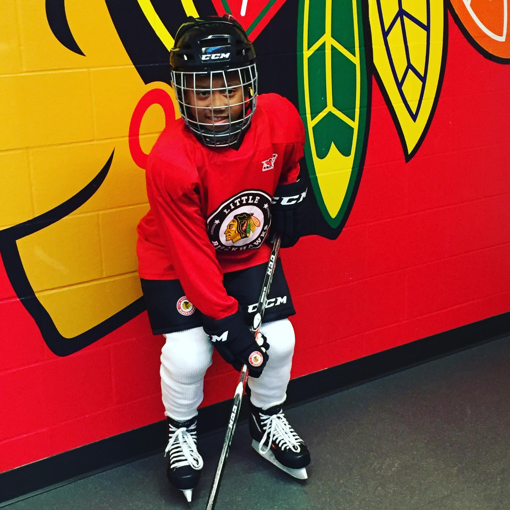 f99b0771676e3 The Chicago Hockey Initiative is thrilled to introduce our 51st Microgrant  recipient – Timmy! Timmy is an elementary school student from Chicago s  Near ...